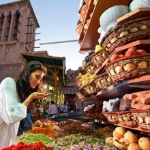 Dubai Heritage Tour with Gold Souk, Spice Souk and Abra Ride at Creek (Small)