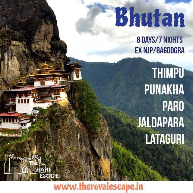 BHUTAN – 8 days/7 Nights – The Royal Escape