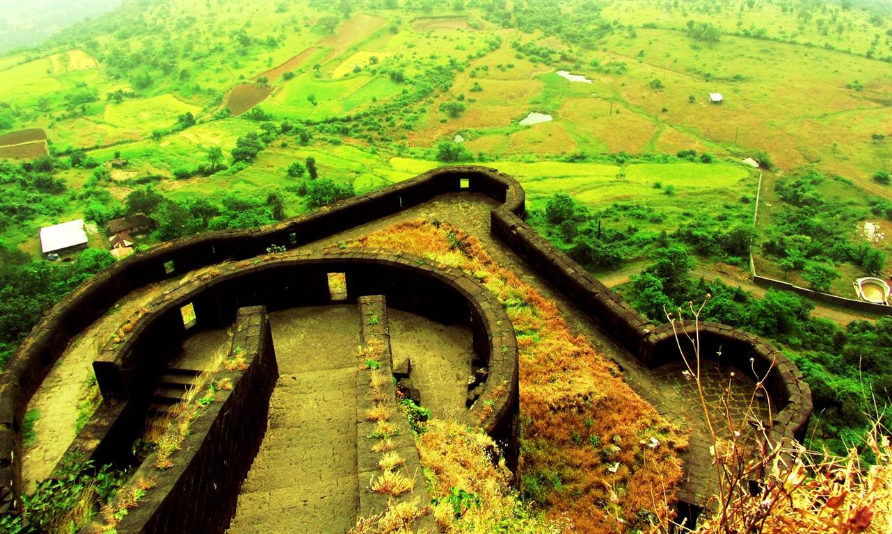 Lohagad Trek-The Royal Escape- Trekking near mumbai (Medium)