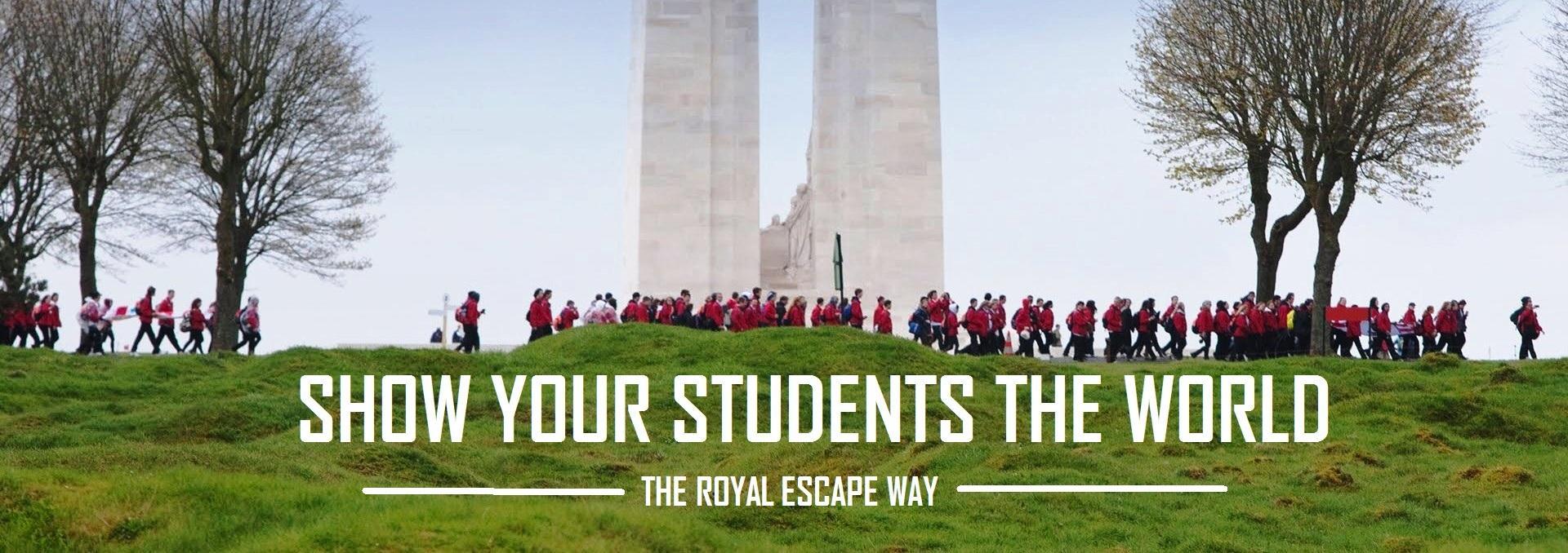 EDUCATIONAL TOURS THE ROYAL ESCAPE