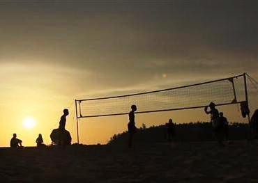 Beach Volleyball at Banas River (Custom)