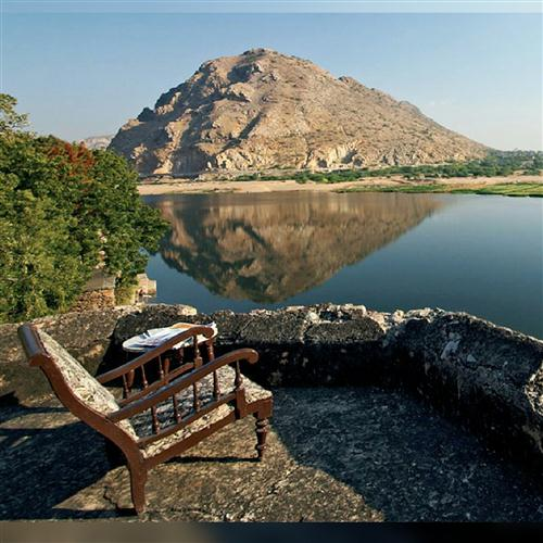 RAJMAHAL … on the Banks of Banas River