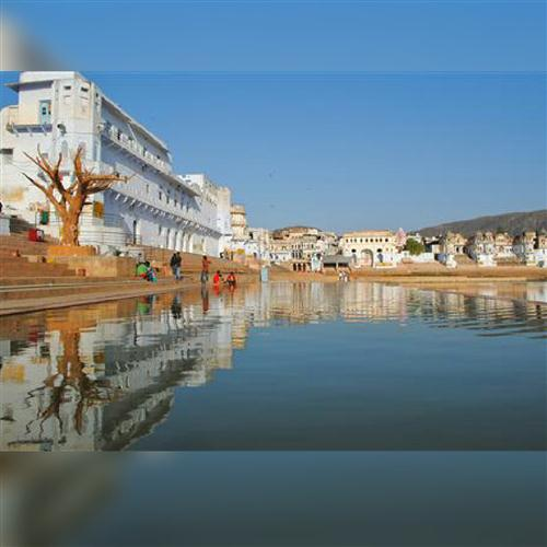 PUSHKAR – With Theme Dinner on Sand Dunes