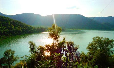 Sunset-Siliserh-Lake-Aravali-Hills-Alwar-Rajasthan (Custom)