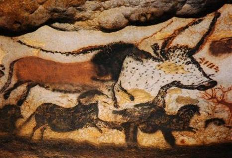 re-Historic stone age rock painting (Custom)