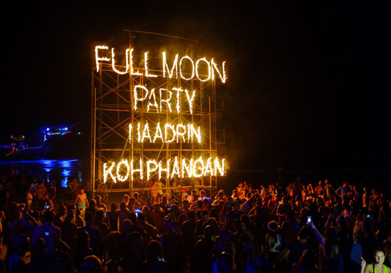Full Moon party thailand The Royal escape