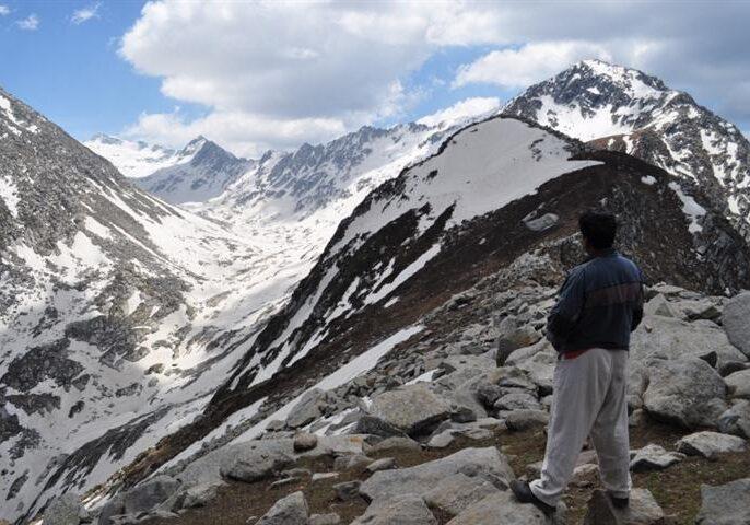 Indrahar Pass Trek, (Small)