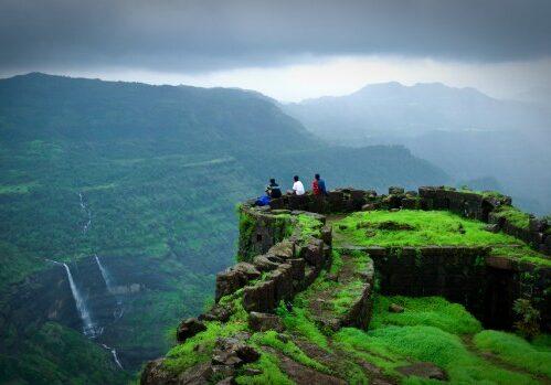 Trekking near mumbai in monsoon