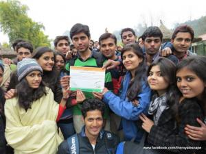 The Royal Escape - Swachh Bharat Abhiyan Initiative - College Tour -India- Tourism (21)