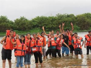The Royal escape-Pune Adventure activities- rafting-trekking-college tour (9)