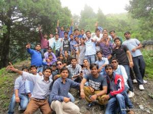 The royal Escape nainital-rappling-rock climbing - college tour-educational tours (1)
